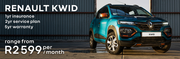 Renault Kwid. Book a test drive!